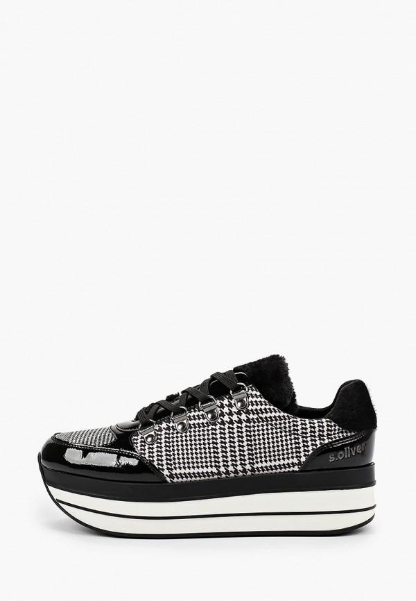 женские кроссовки s.oliver, черные
