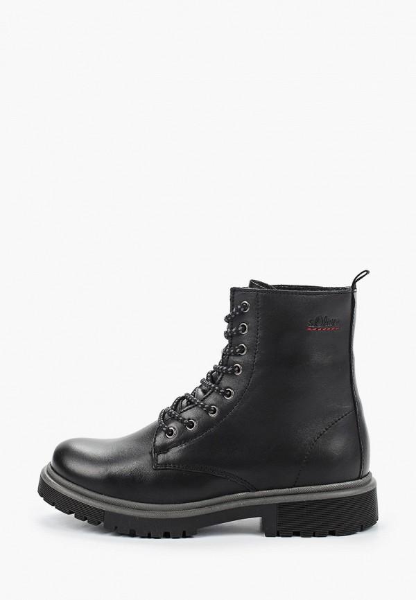 женские ботинки s.oliver, черные