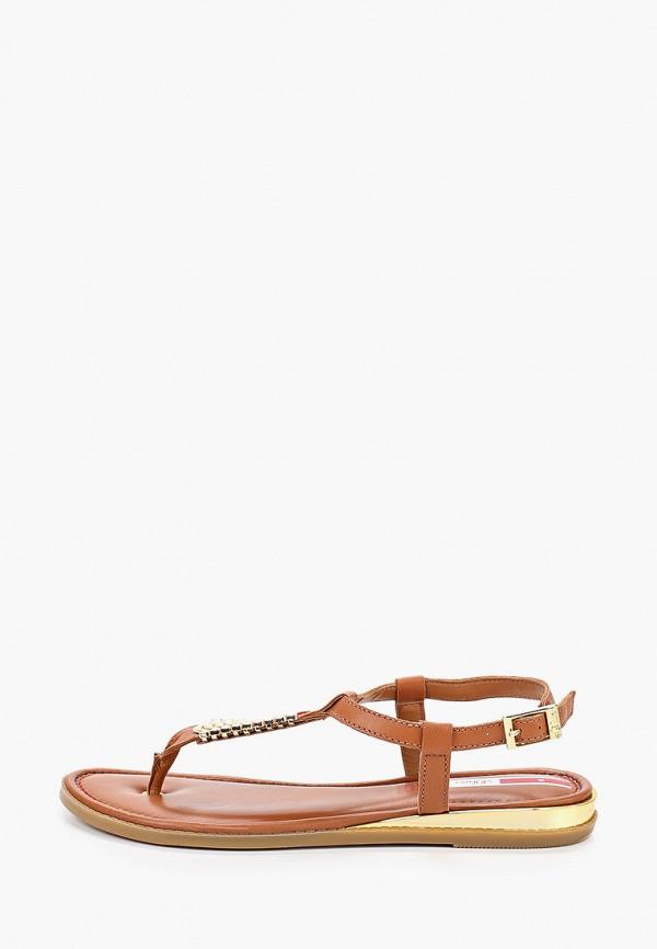 женские сандалии s.oliver, коричневые
