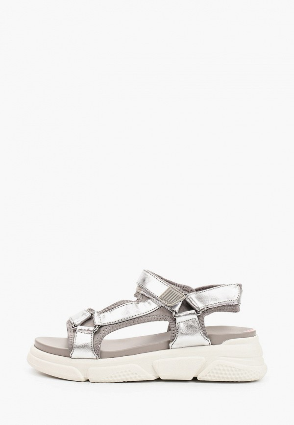 женские сандалии s.oliver, серебряные