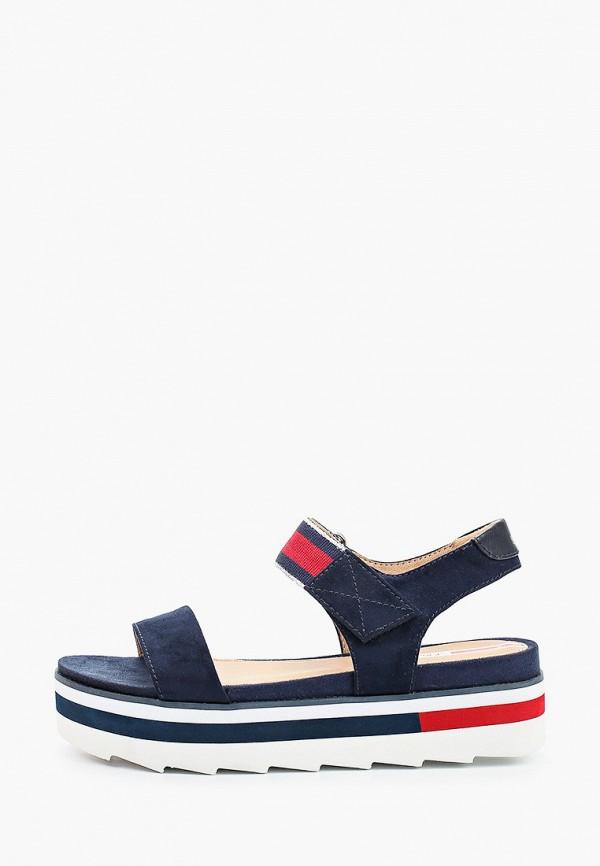 женские сандалии s.oliver, синие