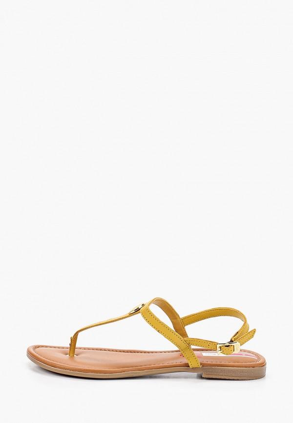 женские сандалии s.oliver, желтые
