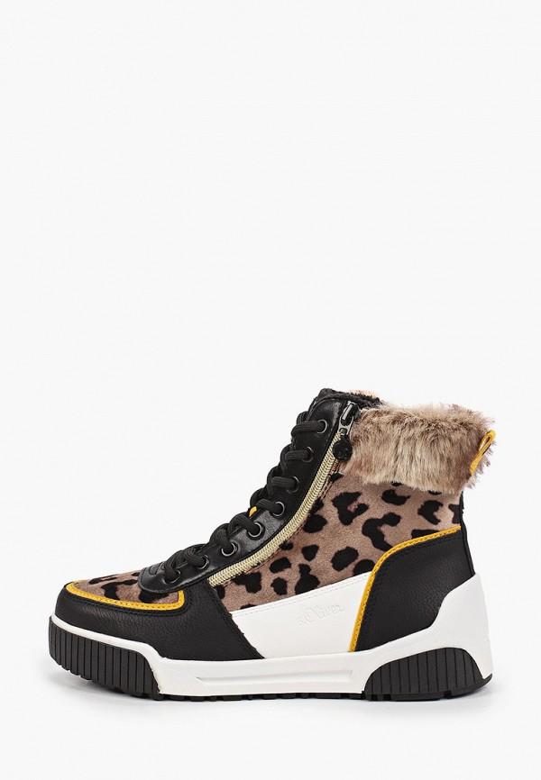 женские ботинки s.oliver, разноцветные