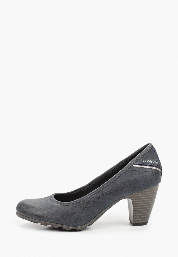 женские туфли s.oliver, синие