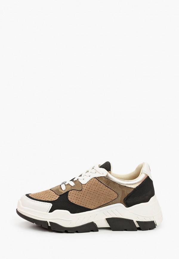 женские кроссовки s.oliver, коричневые