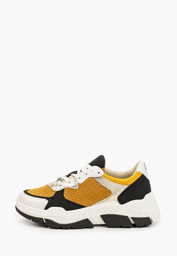 женские кроссовки s.oliver, желтые