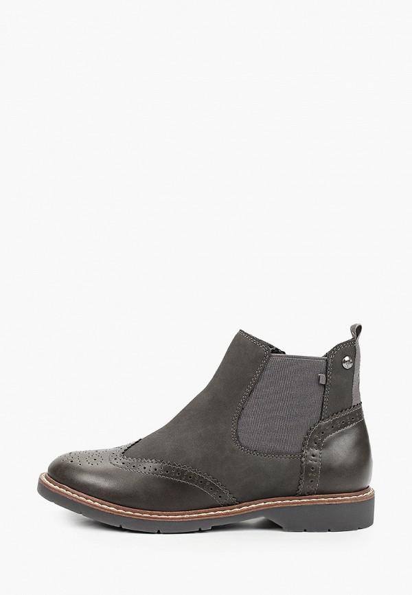 женские ботинки s.oliver, серые