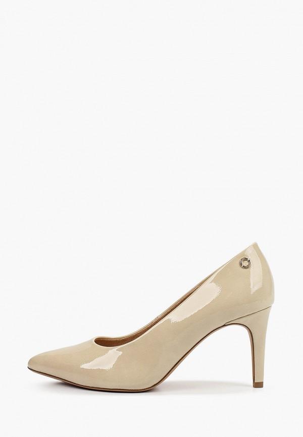 женские туфли s.oliver, бежевые