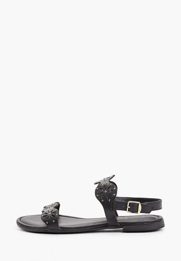 женские сандалии s.oliver, черные