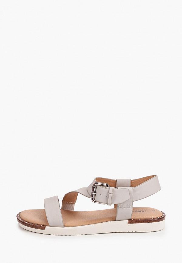 женские сандалии s.oliver, серые