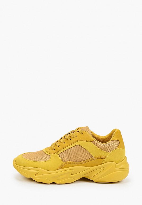женские низкие кроссовки s.oliver, желтые