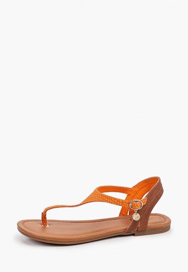 женские сандалии s.oliver, оранжевые