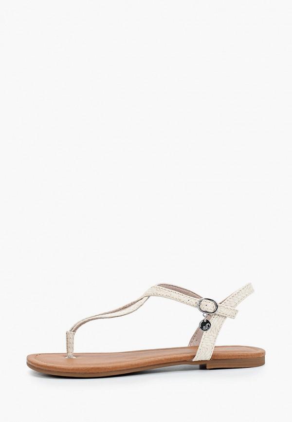 женские сандалии s.oliver, бежевые