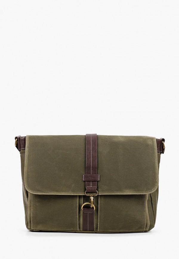 мужская сумка через плечо s.oliver, хаки