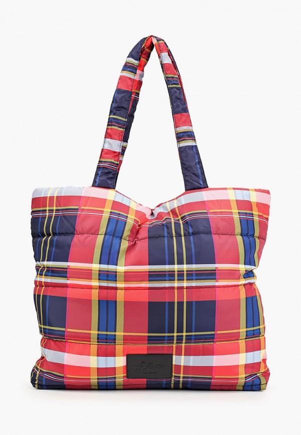 женская сумка s.oliver, разноцветная