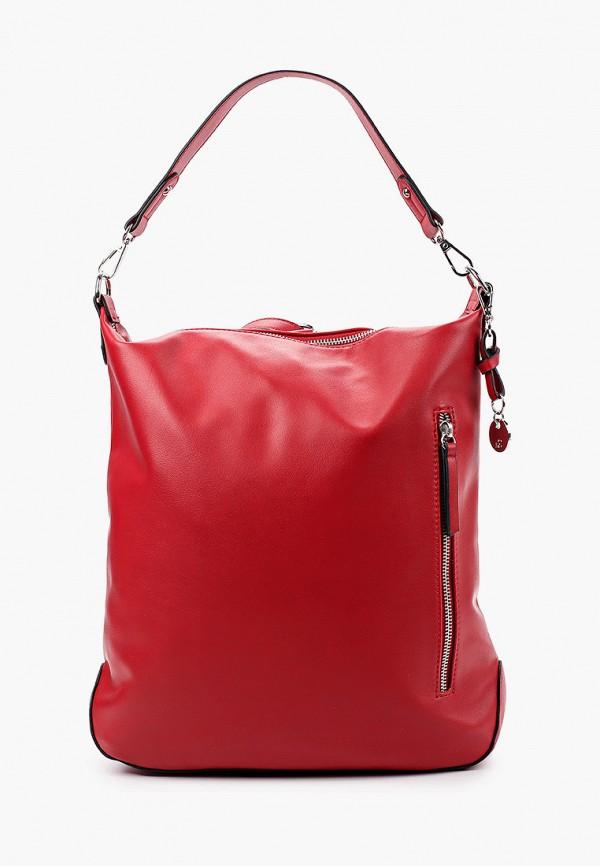 женская сумка с ручками s.oliver, красная