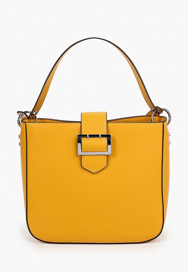 женская сумка с ручками s.oliver, желтая