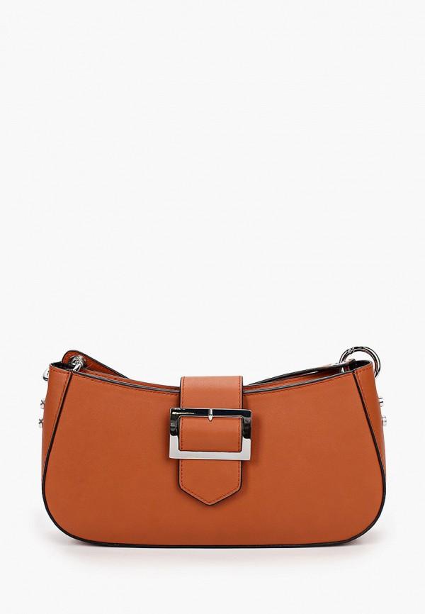 женская сумка через плечо s.oliver, коричневая