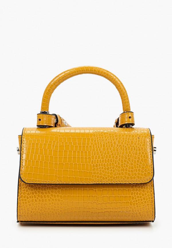 женская сумка через плечо s.oliver, желтая