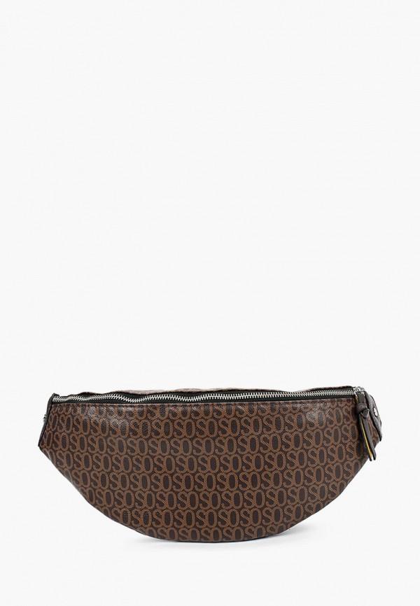 женская поясные сумка s.oliver, коричневая