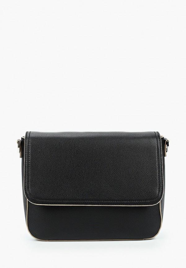 женская сумка через плечо s.oliver, черная