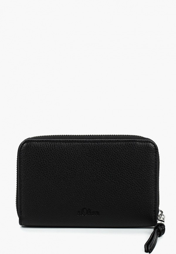 женский кошелёк s.oliver, черный