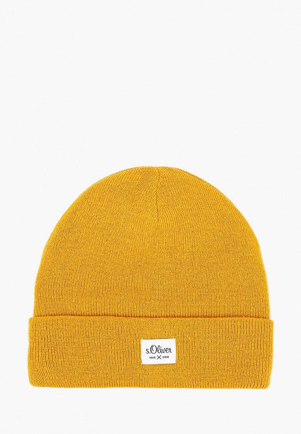 мужская шапка s.oliver, желтая