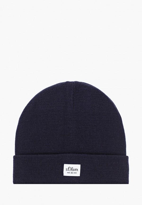 мужская шапка s.oliver, синяя