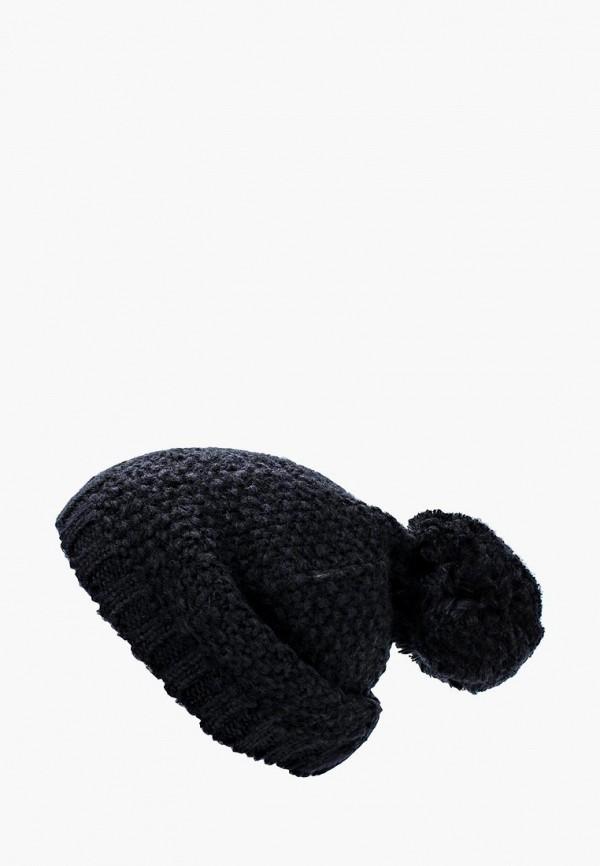 Купить женскую шапку s.Oliver синего цвета