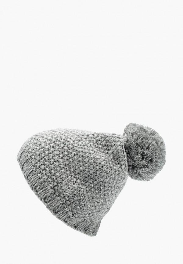 Купить женскую шапку s.Oliver серого цвета