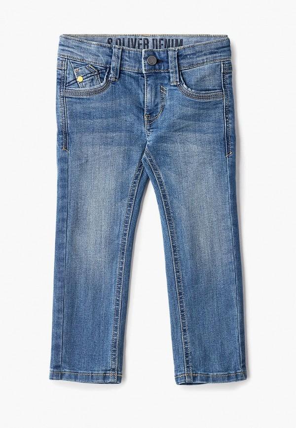 джинсы s.oliver для мальчика, голубые