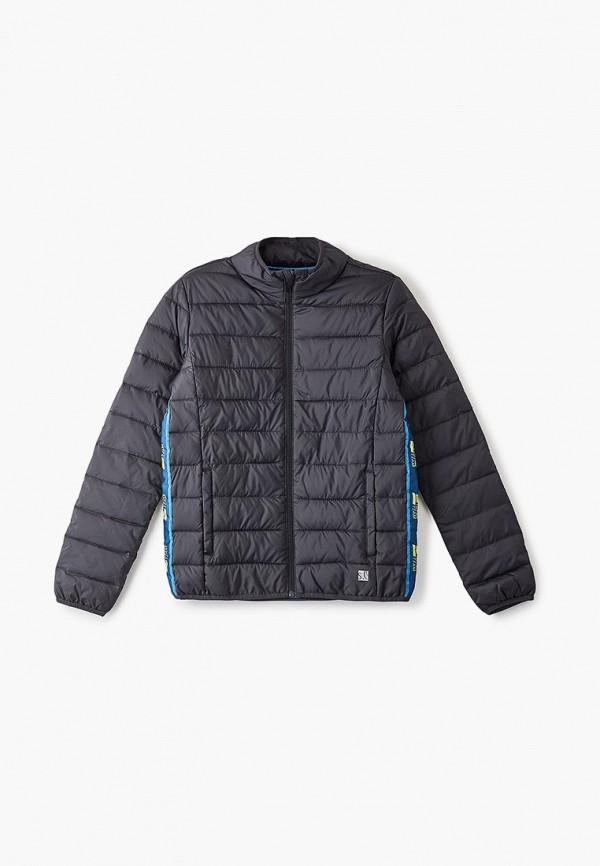 куртка s.oliver для мальчика, черная