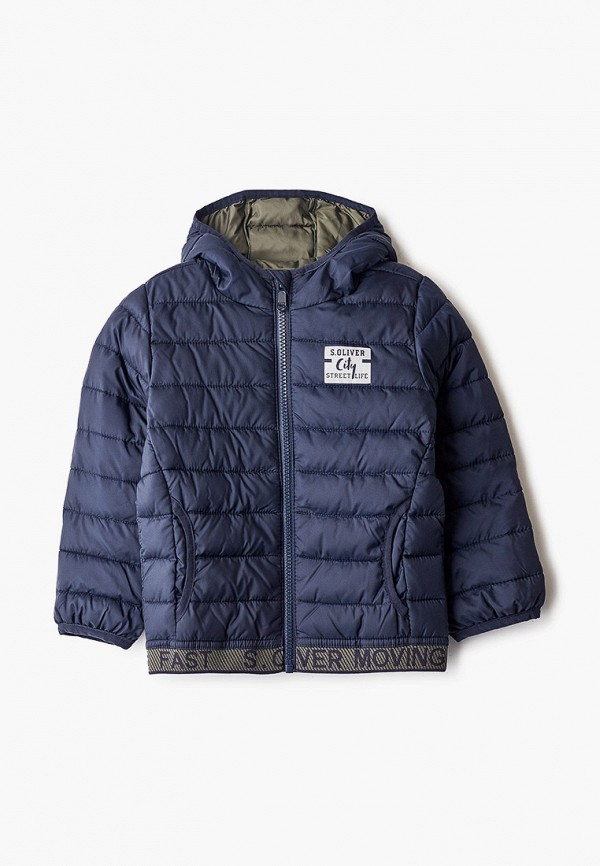 куртка s.oliver для мальчика, синяя