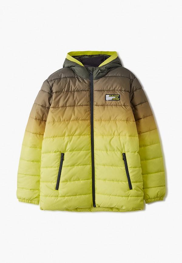 Фото - Куртку утепленная s.Oliver цвета хаки