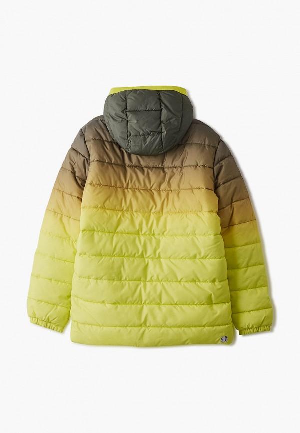Фото 2 - Куртку утепленная s.Oliver цвета хаки