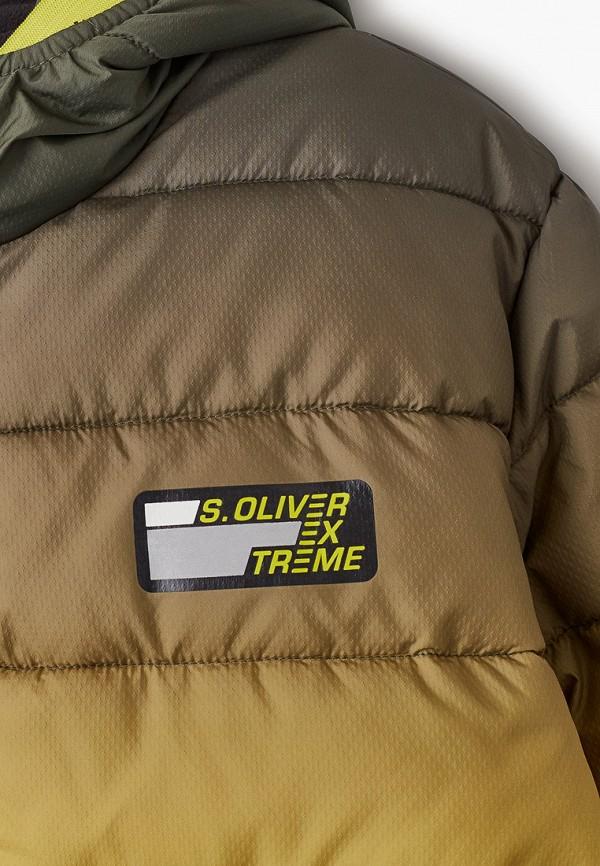 Фото 3 - Куртку утепленная s.Oliver цвета хаки