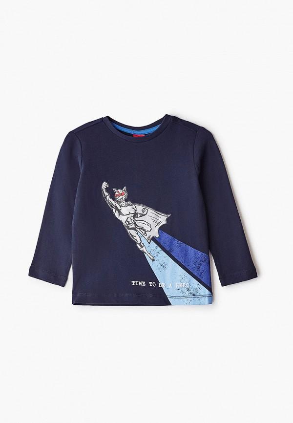 лонгслив s.oliver для мальчика, синий