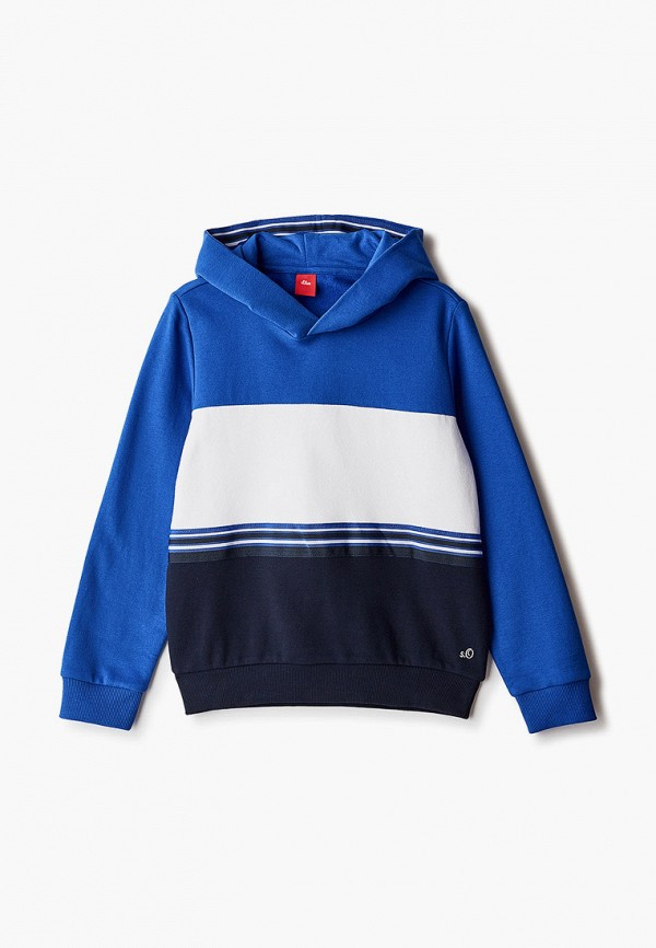 худи s.oliver для мальчика, синие