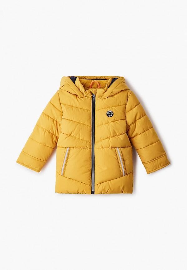 куртка s.oliver для мальчика, желтая