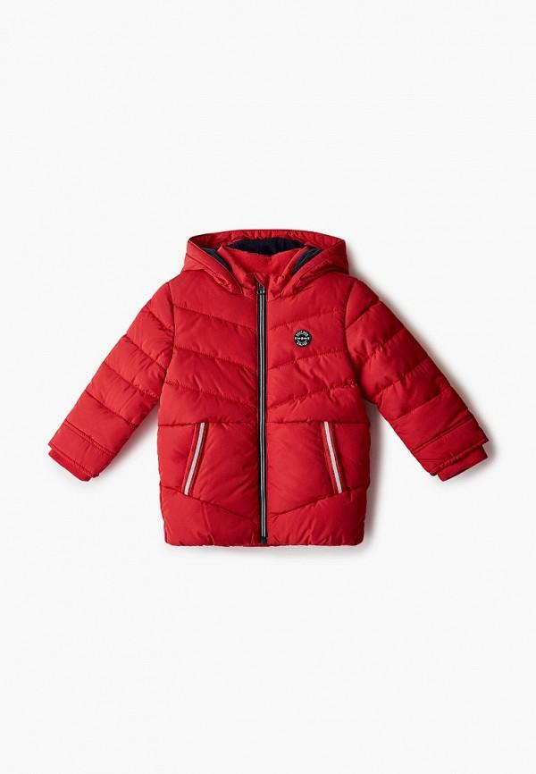 куртка s.oliver для мальчика, красная