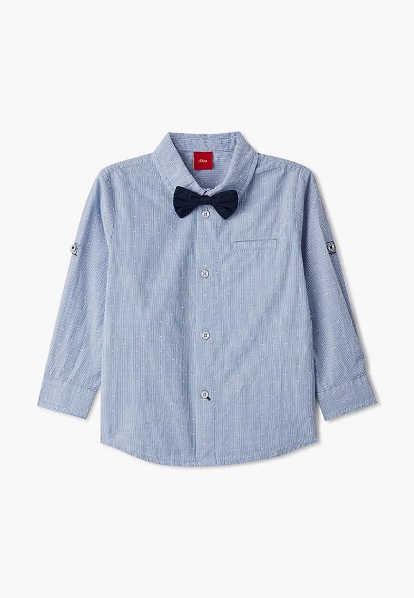 рубашка s.oliver для мальчика, синяя