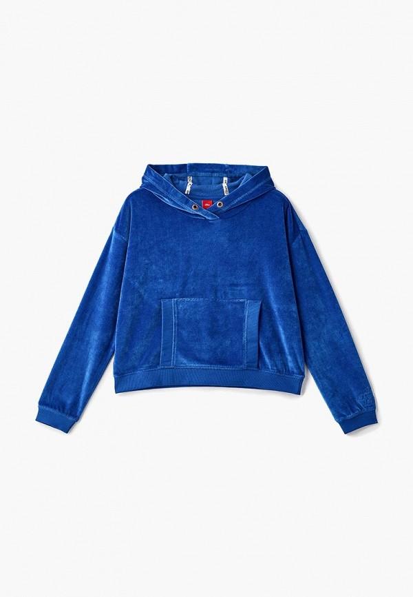 худи s.oliver для девочки, синие