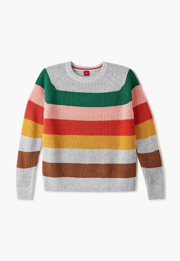 джемпер s.oliver для девочки, разноцветный