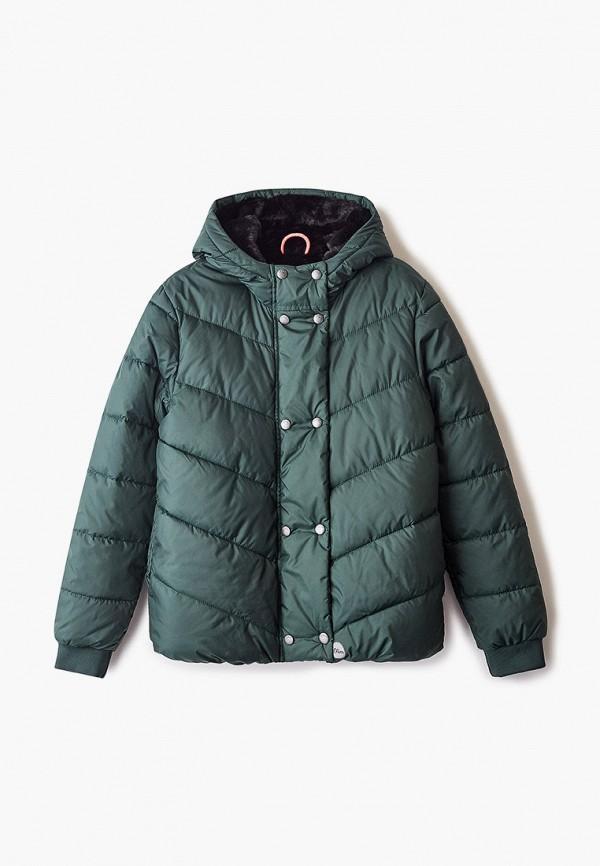 куртка s.oliver для девочки, зеленая
