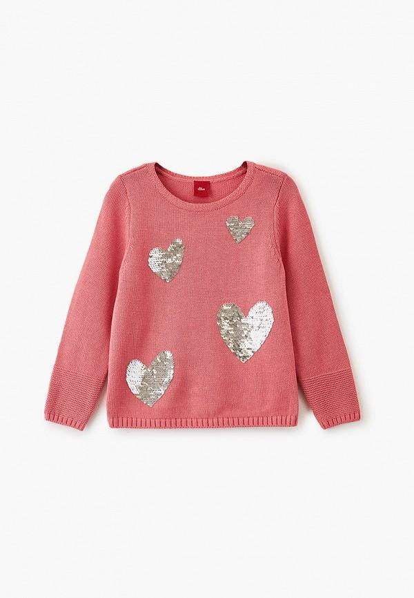 джемпер s.oliver для девочки, розовый