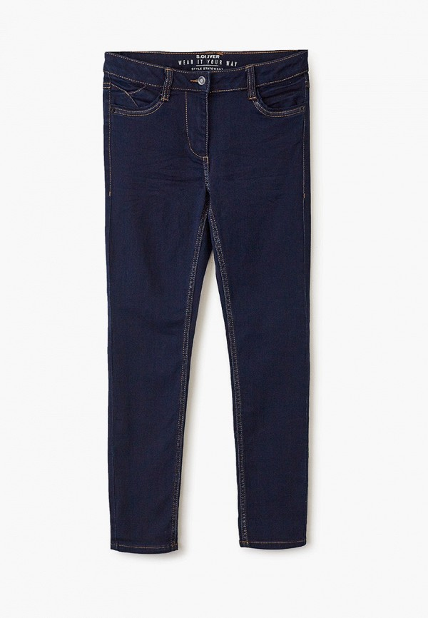 джинсы s.oliver для девочки, синие