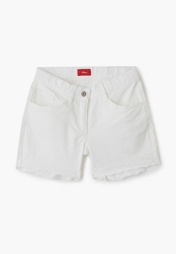 шорты s.oliver для девочки, белые
