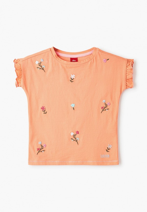 футболка с коротким рукавом s.oliver для девочки