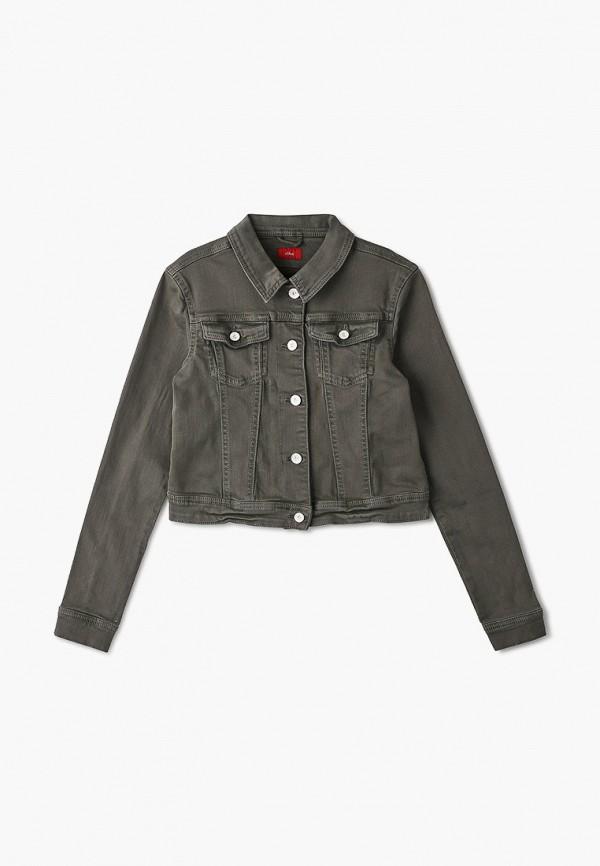джинсовые куртка s.oliver для девочки, хаки