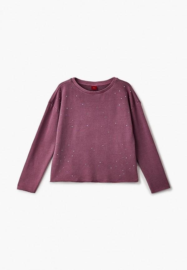 свитшот s.oliver для девочки, фиолетовый